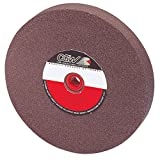 CGW-CAMEL 38003 Brown Aluminum Oxide Bench And Pedestal Grinding Wheel - Size: 6''X1/2''X1'' - Pack of 2