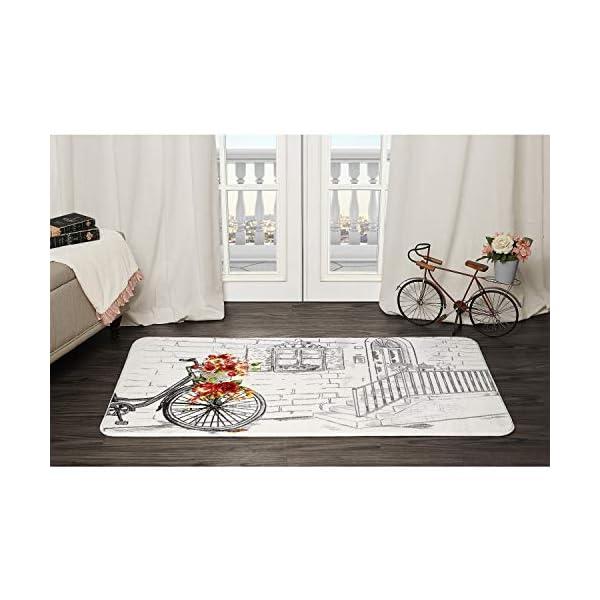 Evolur Home Rose Basket, Nursery Bedroom/Livingroom/BabyPlaymat/ChildrensRug/PlayRug/KidsRug/Floormat Rug 55'x31.5'
