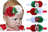 baby girl's headbands chiffon flower hair accessories for newborn toddler and kids-by