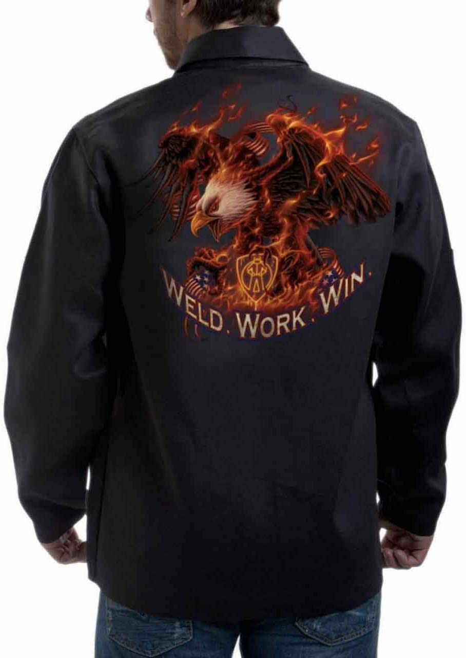 "WIN /"" FR WELDING JACKET  M WORK TILLMAN 9063 /""WELD 3X"