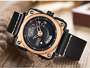 Megir Casual Watch For Men Analog - Leather Band 2040-22