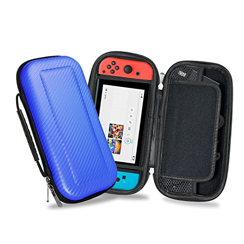 Nintendo Switch Carrying Case - Deluxe Protective Travel Carry Case Pouch for Nintendo Switch Console & Accessories, YOUSHARES ()
