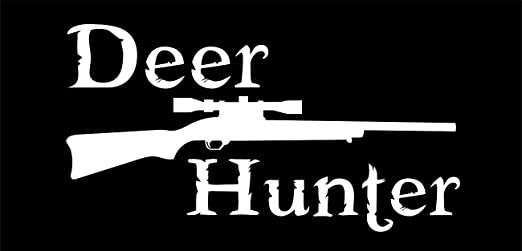 Bow hunter outdoors decal vinyl sticker shooting guns weapon hunting