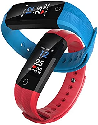 PHIPUDS Reloj Inteligente Bluetooth, Pantalla Smartwatch con ...