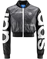 Adidas Womens Rita Ora Mystic Moon Crop Track TT AA3855 Black/White, ...