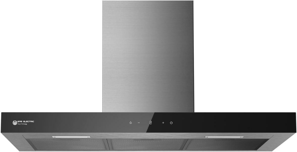 Campana Inox Eas Electric EMRH908BX 90 cm 3 niveles: Amazon.es ...