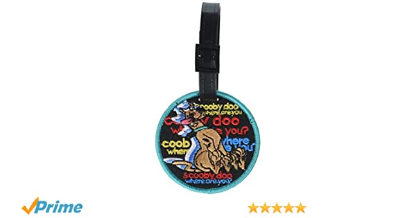 Luggage Tag Where Are You Scooby-Doo New Toys lt-han-0003