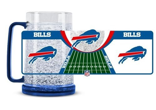 Buffalo Bills Crystal Freezer Mug (Buffalo Bills 16 Oz Crystal)
