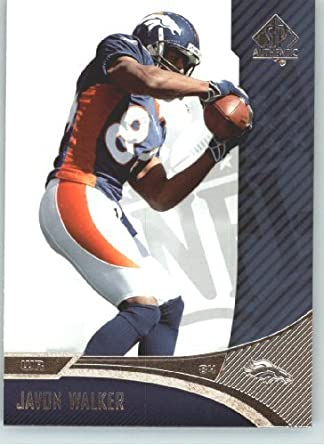 Amazon.com: Javon Walker - Denver Broncos - 2006 SP Authentic Card ...