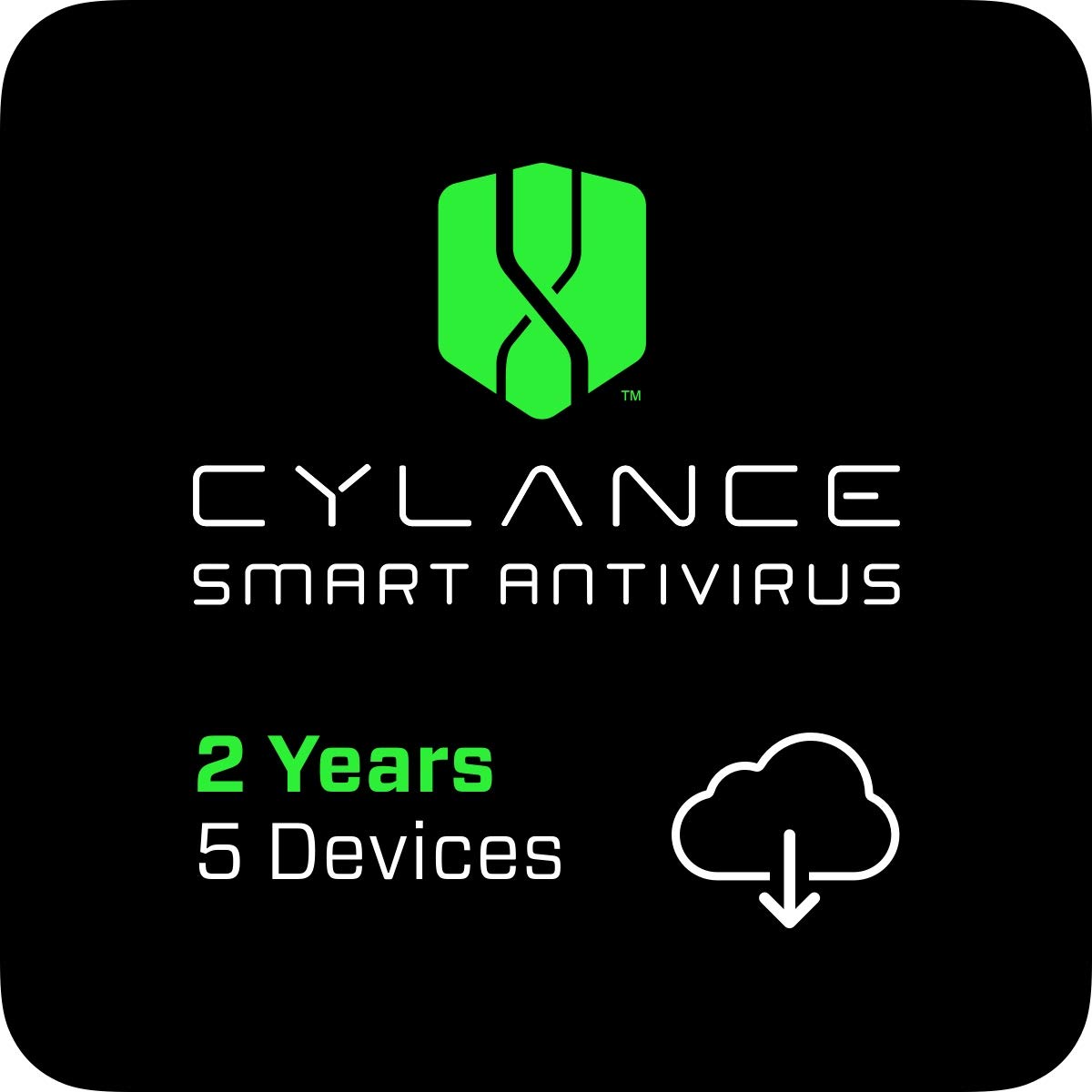 Cylance Smart Antivirus | 2 Years | 5 Devices [PC/Mac Online Code] by Cylance, Inc.