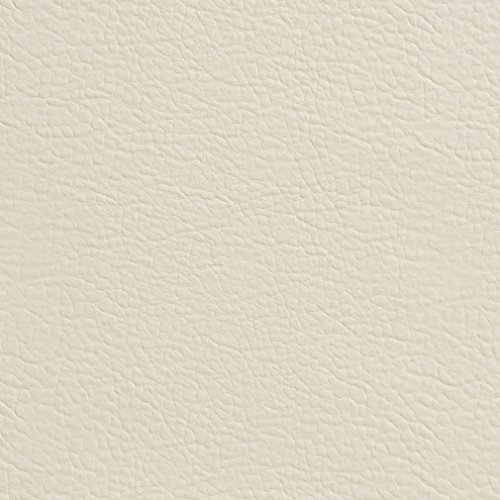 G359 Ivory Matte Leather Grain Upholstery Faux Leather by The -