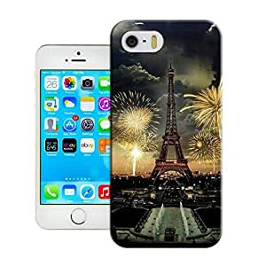LarryToliver Diy-Cover Wholesale New Design Cases iphone 5/5s Hard Cover For Customizable Eiffel Tower