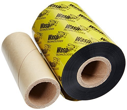 Wasp Wwx Wax (WASP BARCODE TECHNOLOGIES 633808431150 / WWX 3.26IN X 820FT WAX RIBBON FOR WASP WPL305/606 PRINTER by Wasp Technologies)