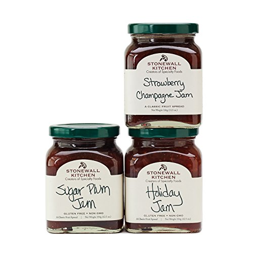 Stonewall Kitchen Our Holiday Jam Collection 2018 (Parfait Collection)