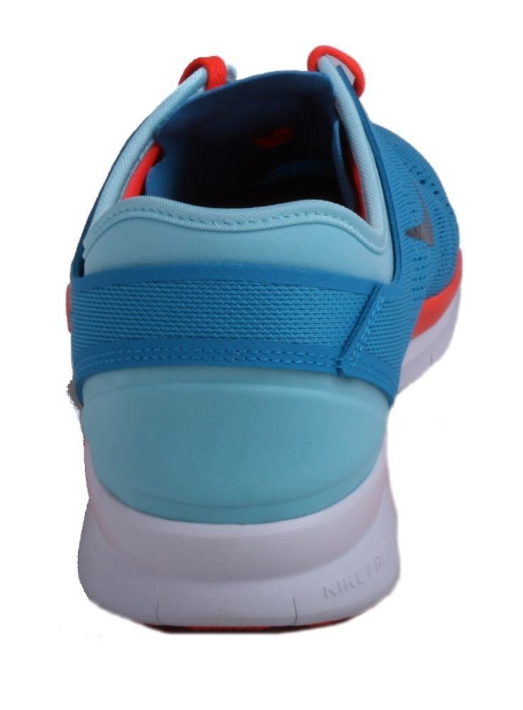 NIKE Free 5.0 TR Fit 5 Womens Blue Lagoon/Black/Bright Crimson Running Sneakers by NIKE (Image #5)