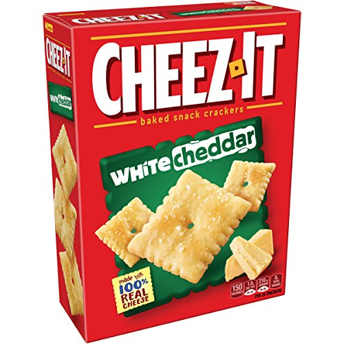 Sunshine, Cheez-It White Cheddar Baked Snack Crackers, 12.4 oz