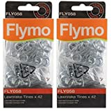 Genuine Flymo Compact 3400 340 Lawnrake Tines (Pack of 84, FLY058)