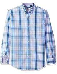 Izod Mens Long Sleeve Plaid Shirt