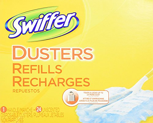 Price comparison product image Swiffer Dusters Handle and Refills Unscented, 24 Count