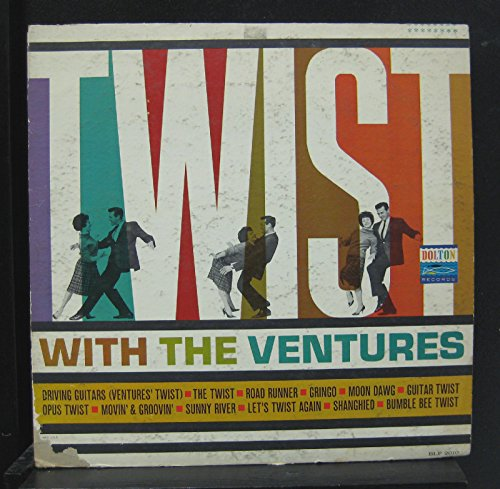 The Ventures - The Ventures - Twist With The Ventures - Lp Vinyl Record - Zortam Music