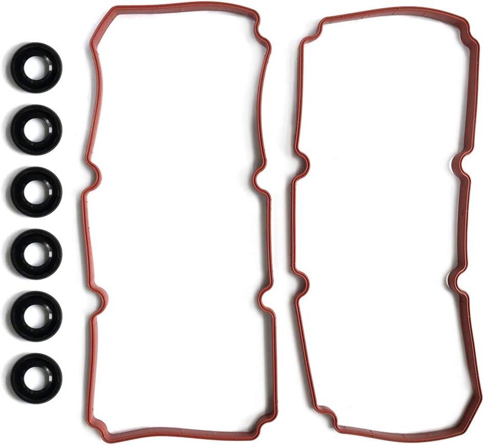 SCITOO Valve Cover Gasket Set Replacement for Dodge Grand Caravan 4-Door for Mini Passenger Van 4.0L SXT