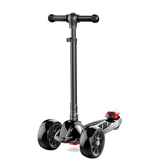Patinetes clásicos Scooter Plegable con manubrio Ajustable ...