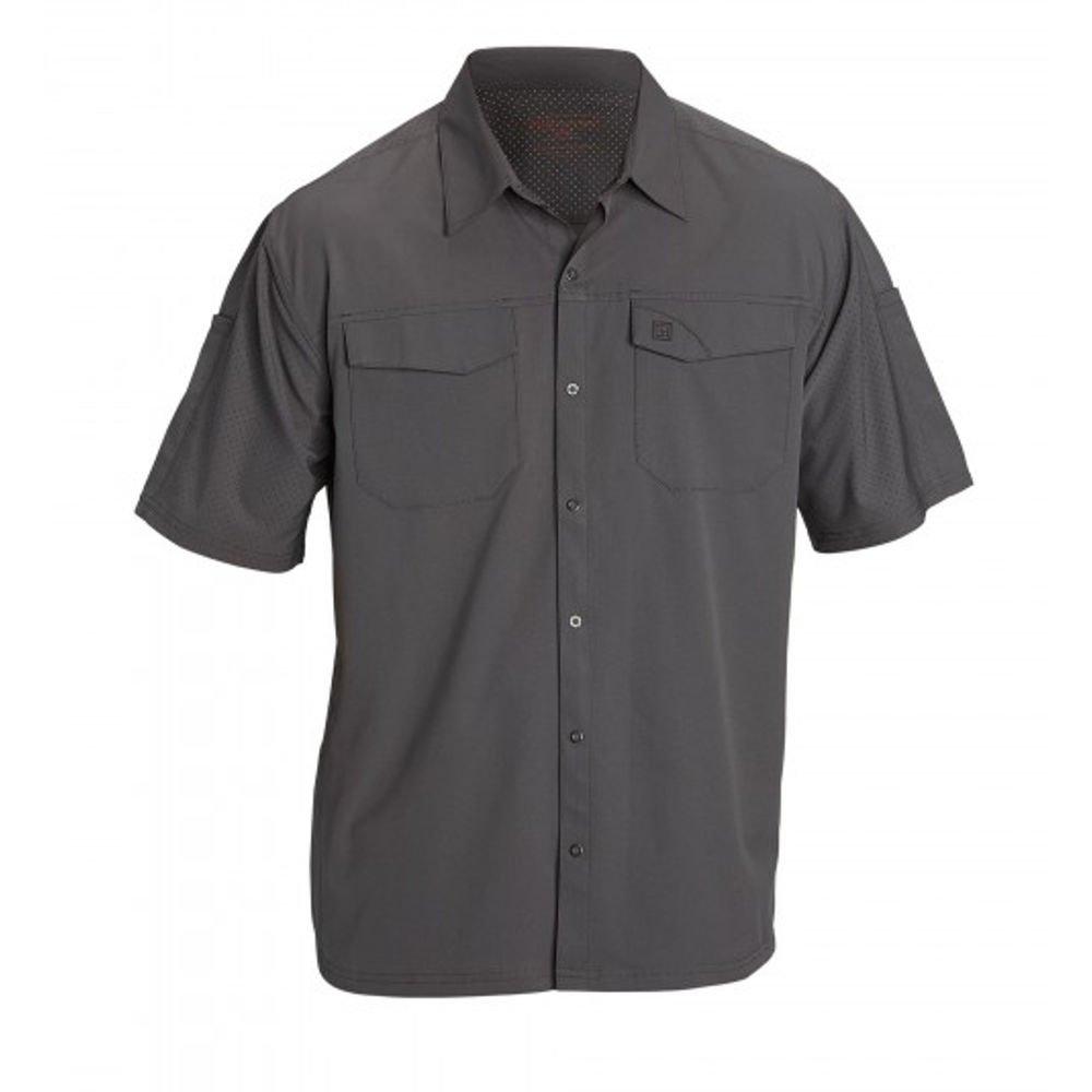 Amazon.com: 5.11 Men's Freedom Flex Woven Short Sleeve Shirt ...