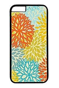 iPhone 6 Case, Custom Design Covers for iPhone 6 PC Black Edge Case - Colorful 02