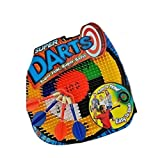 Super Darts - Super Fun - Super Safe. by Big Time Toys Ages 4+ Easy throw hit the bullseye & score big!
