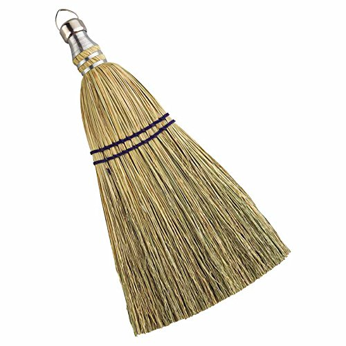 Whisk Brooms, 12 in Trim L, 100% Broom Corn Fill (48 Pack) by Anchor Brand