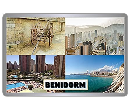 BENIDORM SPAIN FRIDGE MAGNET-2