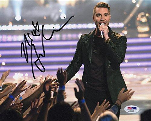 Nick Fradiani Signed American Idol 8x10 Photo Autograph PSA/DNA COA #AA83683
