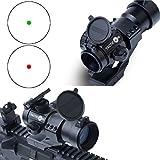 TACTICON (TM) Predator V1 Red Dot Sight | Green Dot Sight | VETERAN OWNED | Rifle Optic Reflex Sight