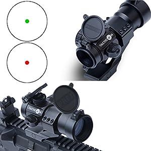 TACTICON (TM) Predator V1 Red Dot Sight | Green Dot Sight | Rifle Optic Reflex Sight