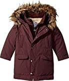 Appaman Little Boys' Pratt Down Parka, Dark Plum, 5