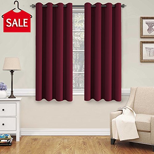 H.VERSAILTEX Blackout Thermal Insulated Curtains for Bedroom/Living Room, 52