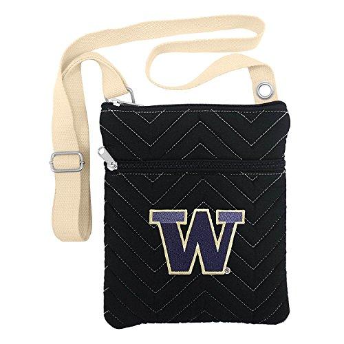(NCAA Washington Huskies Chev-Stitch Cross Body)