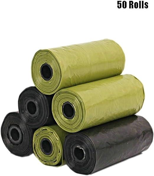 Bolsas Biodegradables para Excrementos 50 Rollos, Ecológico Y ...