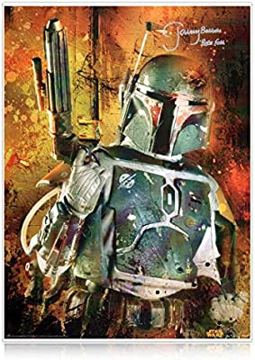 Cartel de Star Wars firmado por Boba Fett (Jeremy Bulloch ...