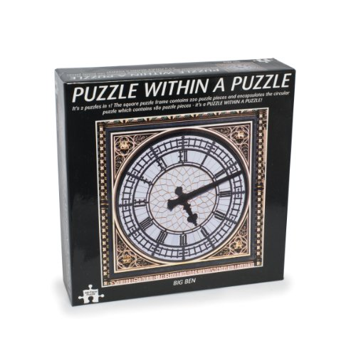 Funtime Gifts Puzzle Within Puzzle Big Ben (Best Jigsaw Puzzle App For Mac)