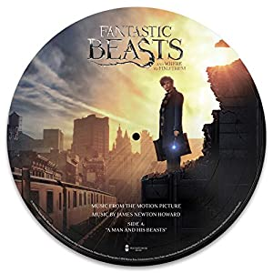 Image result for fantastic beasts and where to find them new album art picture disc