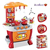 ToyShine Big Size Kitchen Set Toy With Music And Lights, Playing Accessories,