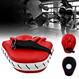 Boxing Punch Mitts, Shock Absorbent Martial MMA Strike Shield Thai Kick Focus Target Hand Training Pad