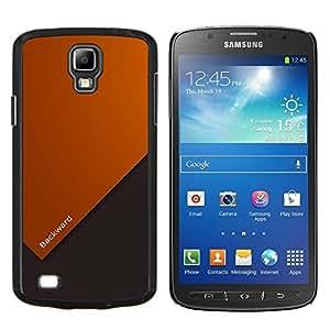 TECHCASE---Cubierta de la caja de protección para la piel dura ** Samsung Galaxy S4 Active i9295 ** --Cita Vida motivación Forward Slogan Arte