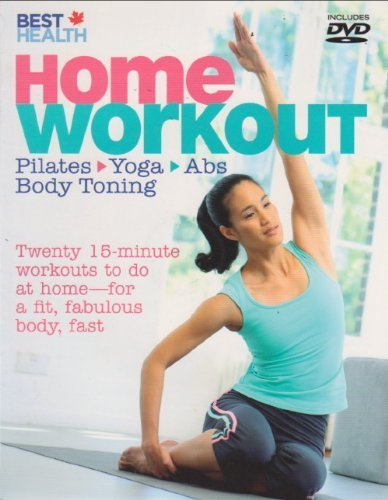 Best Health Home Workout Pilates Yoga Abs Body Toning with DVD by Alycea Ungaro (2010-05-03)