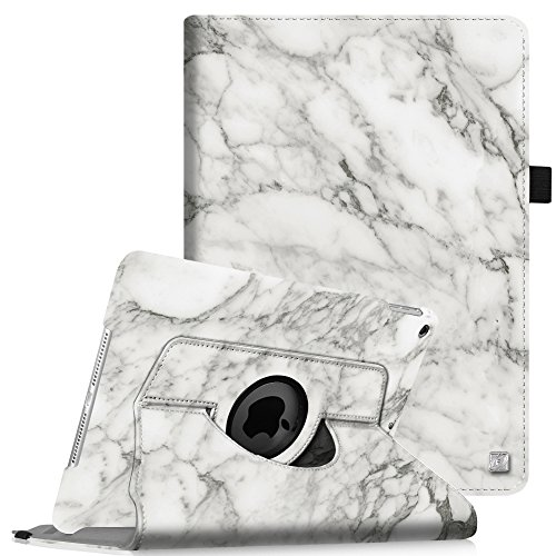 Fintie iPad mini 1/2/3 Case - 360 Degree Rotating Stand Case Cover with Auto Sleep / Wake Feature for Apple iPad mini 1 / iPad mini 2 / iPad mini 3, Marble