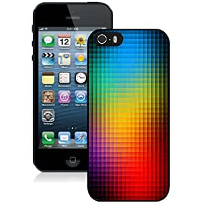 Beautiful Custom Designed Cover Case For iPhone 5s With Neon Light Mosaics Phone Case