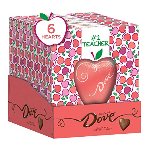 DOVE Valentine's Day Milk Chocolate Solid Heart...