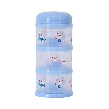 Dispenser Pink Made In Korea Yomilock 5-Layer Antibiotic Milk Powder Container