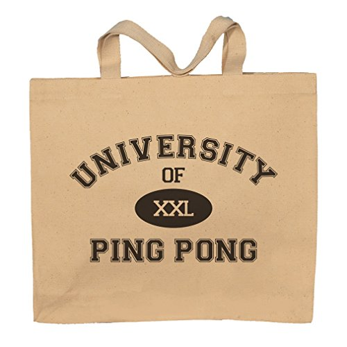 University Of XXL Ping Pong Totebag Bag by T-ShirtFrenzy